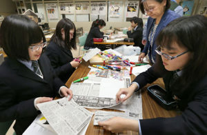 札幌・北海道新聞社で