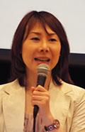 「新聞を通して社会に興味を持って」と語る菅井貴子さん