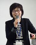 教員養成課程にNIEを取り入れるよう呼びかける渡辺裕子さん