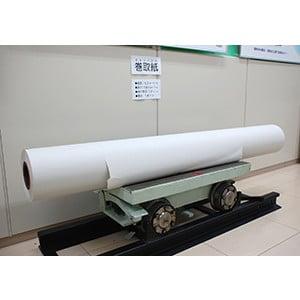 巻取紙と台車