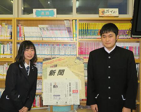 パネル討論に参加する為国結菜さん(左)と浜田亮太さん